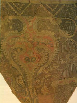 Bereket motifli işleme - Noin-Ula Kurganı M.Ö. I.yy ( The State Hermitage Museum / Rusia)