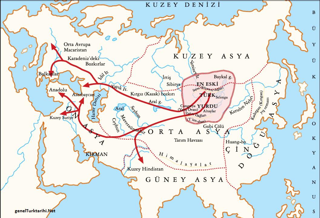 Türklerin Göçleri ve Yayılması
