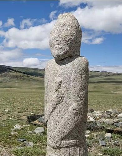 Bir Türk savaşçının taş hatırası- David Baxendale